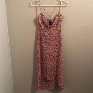 EXPRESS Strappy Floral Dress